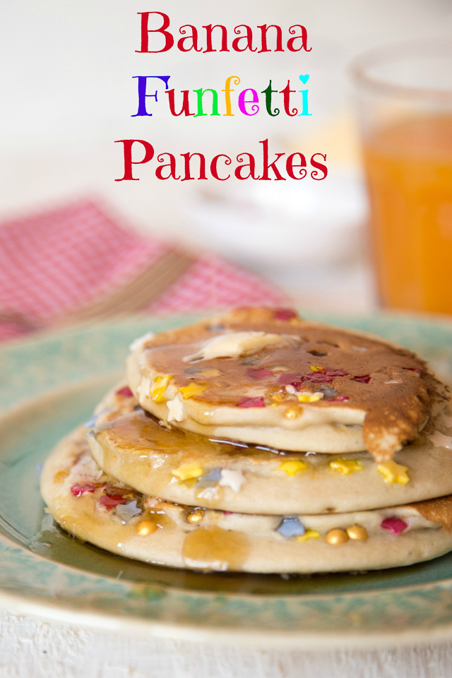 Fun, easy to make pancakes to brighten the dullest of mornings
