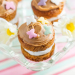 Recipe: Toffee Caramel Mini Easter Cakes