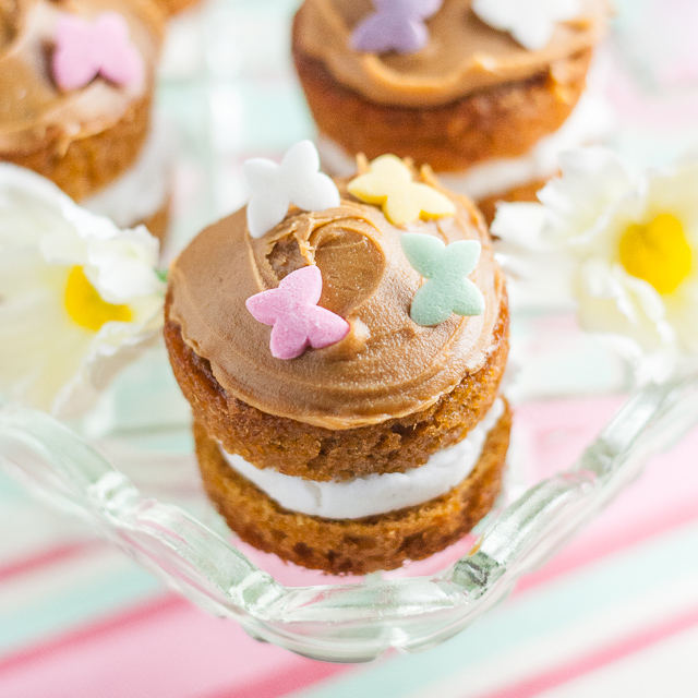 Recipe Toffee Caramel Mini Easter Cakes Fuss Free Flavours