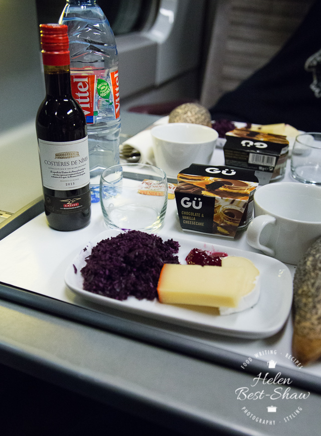 Eurostar Standard Premier light meal