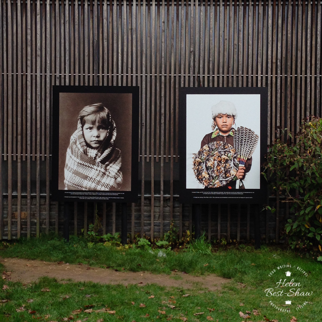 Native American Chidren photographed 100 years apart - Festival Photo La Gacilly