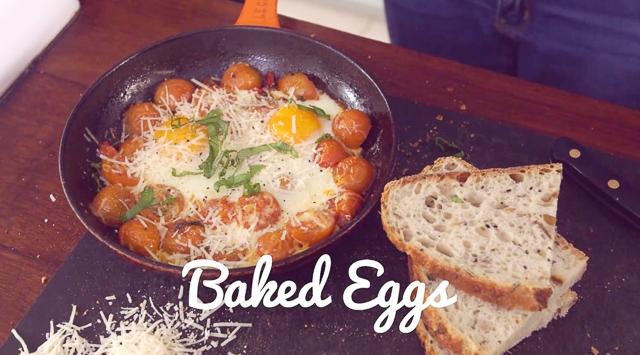 Healthy Baked Eggs