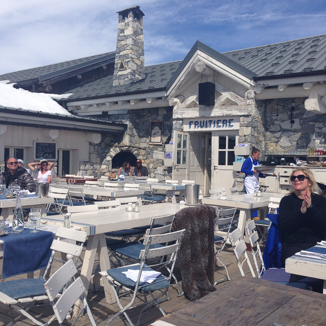 Mountain restaurant Val d isere