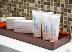 Gilchrist & Soames toiletries on board the Celebrity Eclipse cruise ship