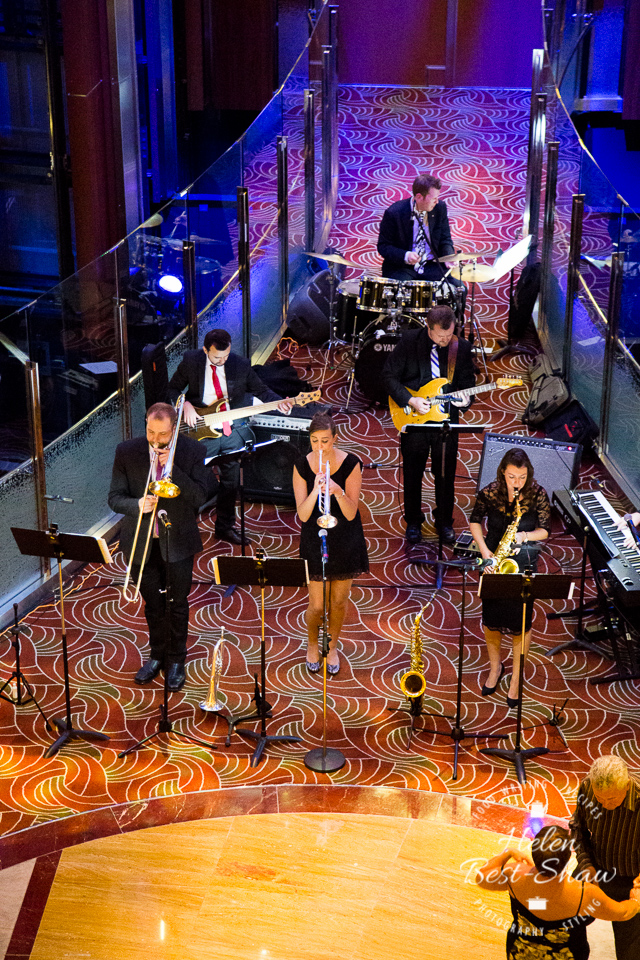 Evening Entertainment on board Celebrity Eclipse