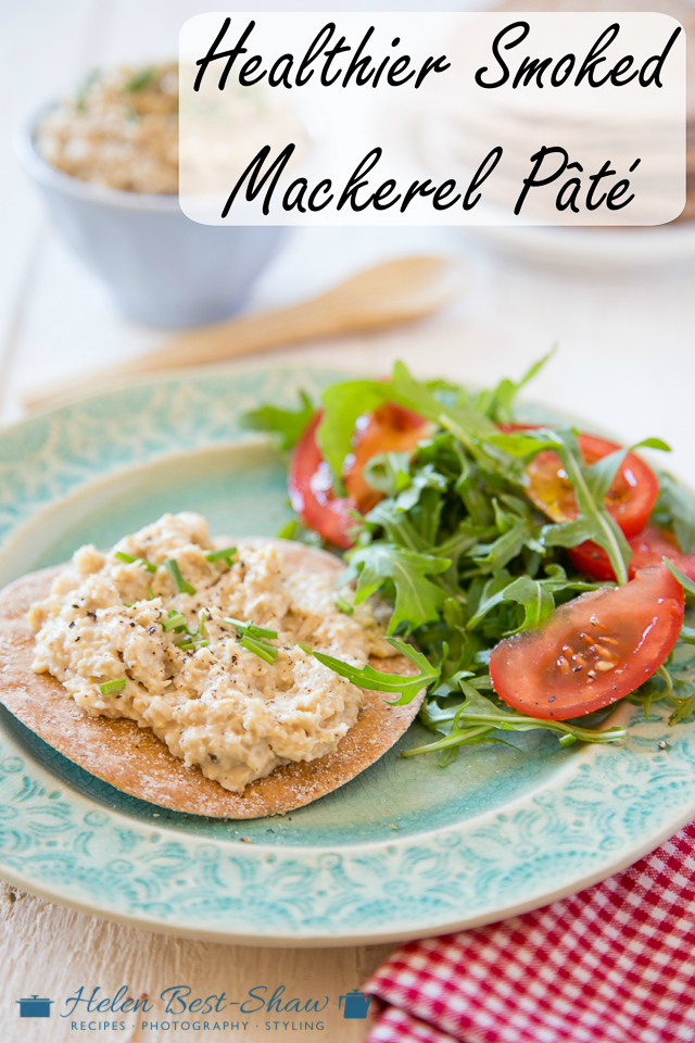 An easy recipe for a delicious, lighter and healthier smoked mackerel pâté