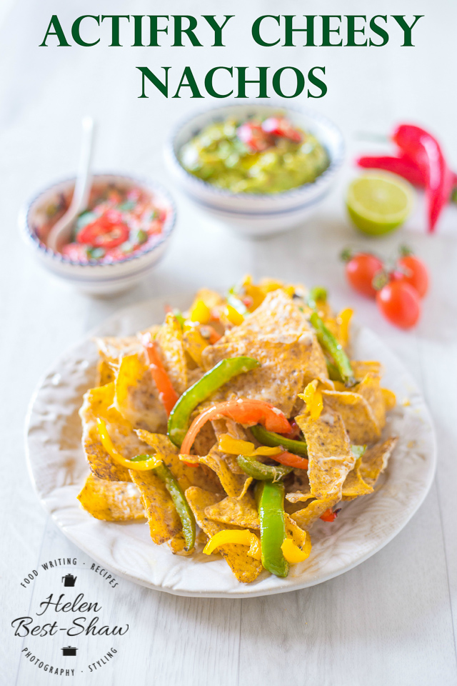 A simple way to make perfect nachos coated with cheese | Fuss Free Flavours