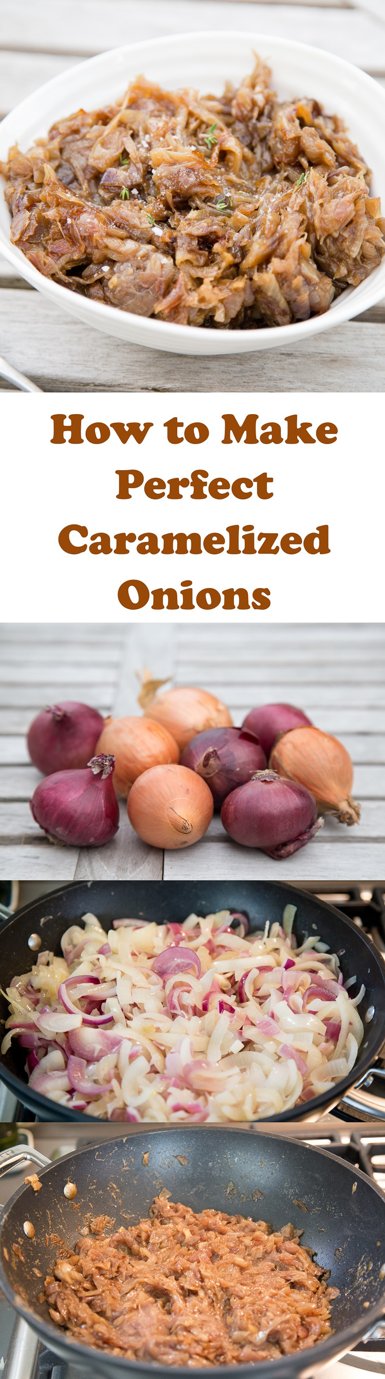How to make the perfect, sticky, tasty caramelized onions - so simple and delicious