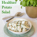 A simple substitution makes this potato salad far more healthy without compromising on taste.