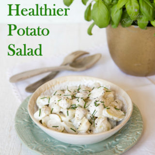 Healthy Potato Salad – Half Mayo Half Yogurt