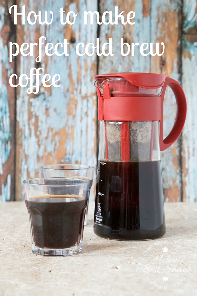 How to make perfect cold brew coffee | Fuss Free Flavours