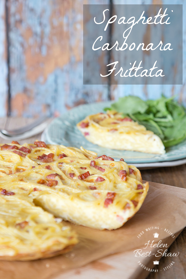 This easy recipe for frittata uses up leftover pasta, is endlessly adaptable and perfect for picnics