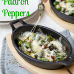 Recipe: Cheesy Padron Peppers