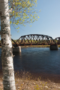 Old Railway bridge, Doaktown, New Brunswick
