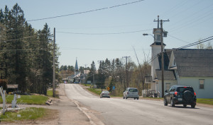 Main Street, Doaktown, New Brunswick