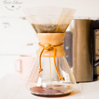 The Chemex - A stylishly retro way of making pour-over coffee