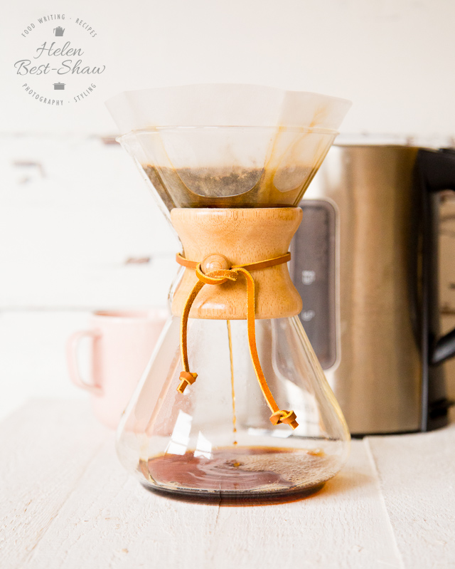 review: making coffee in a chemex