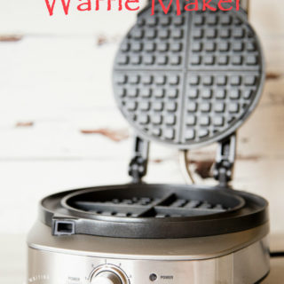 Sage by Heston Blumenthal - A robust well designed waffle maker for the most demanding family.