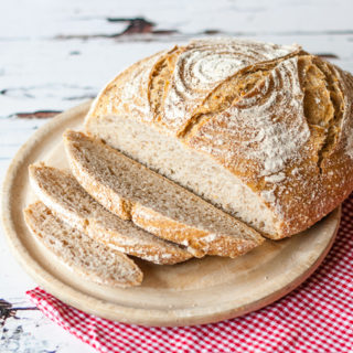 Recipe: Whisky Wort Barley Sourdough