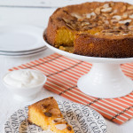 Sophie Thompson's very lemony almond & polenta cake
