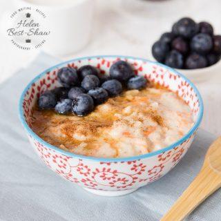 Recipe: Spiced Carrot & Apple Porridge