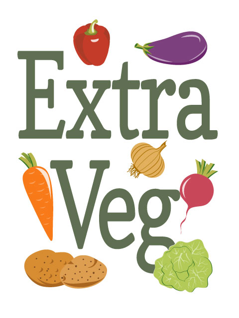 Extra Veg Blogging challenge badge