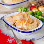 Recipe: Leftover Turkey & Ham Pies, with a filo crunch
