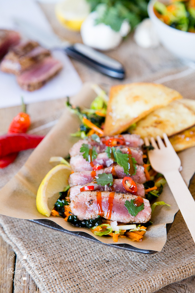 Recipe garlic lemon cannon of lamb with winter slaw street food street food is big on flavour and so popular this easy recipe for lamb with forumfinder Images