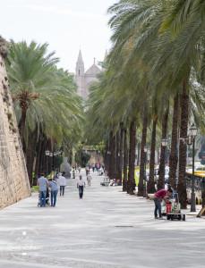 Palma de Mallorca - Promenade