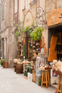 The delightful town of Pitigliano in Tuscany.