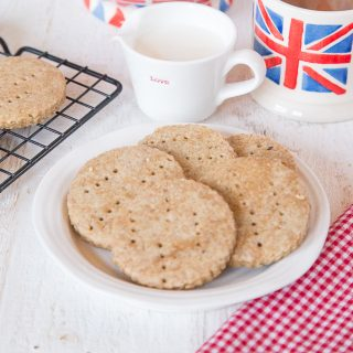 Recipe: Tea flavoured digestive biscuits