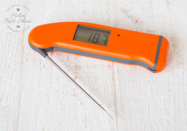 The Thermapen is an excellent and indispensable kitchen tool for precision cooking and also for food safety