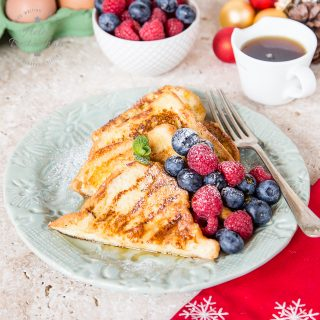 Orange Spiced French Toast – perfect for Christmas Brunch