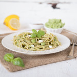 Recipe: Spaghetti with pea pesto