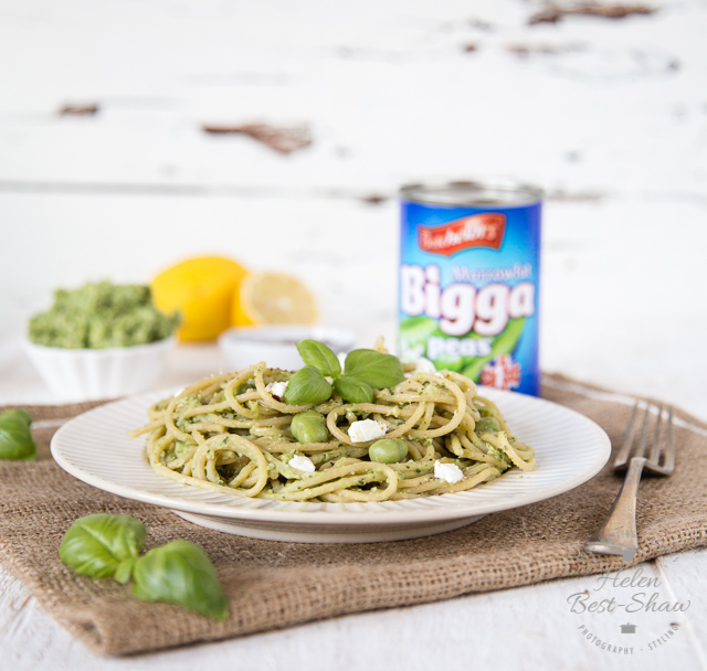 Homemade pea pesto is quick and easy to make, as well as delicious