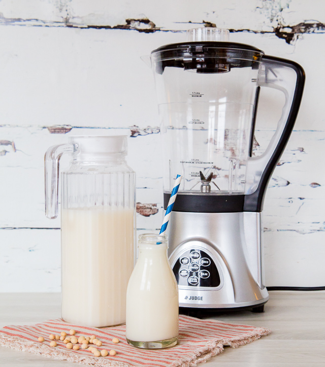 Soy milk is so easy and frugal to make at home, as well as far better for you than shop bought in cartons
