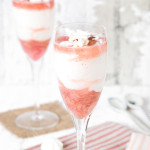 Vanilla and Rhubarb Syllabub