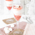 Syllabub is about the easiest pudding you can make, serve in a wine glass for stunning effect. This version is vanilla and rhubarb flavoured