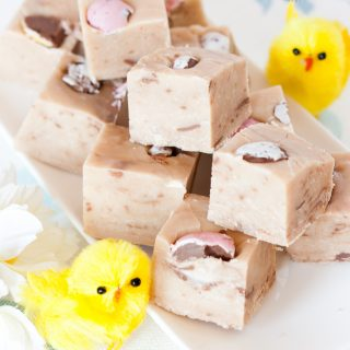 Cadbury Creme Egg Fudge