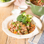 Lamb & Bean One Pot Casserole #LivePeasant
