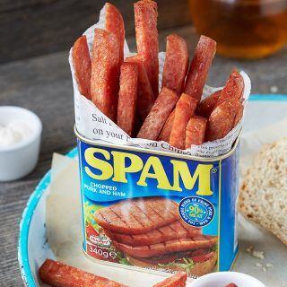 One Ingredient SPAM® Fries {Gluten Free}