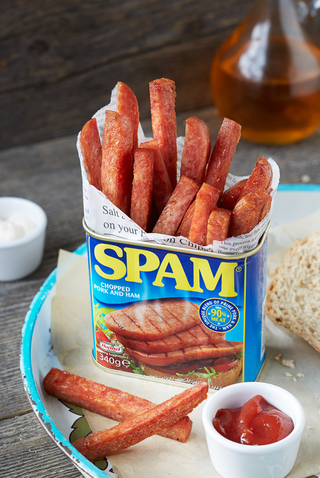 Savoury, crispy and enticingly more-ish Spam fries will really surprise you.