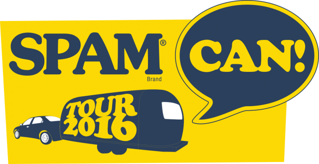 SPAM can tour 2016