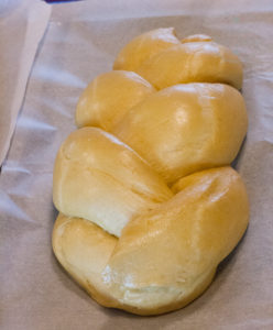 Advanced bread baking at River Cottage - brioche plait