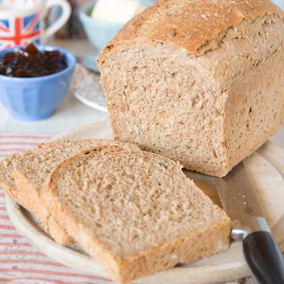 This easy recipe for a half and half malted brown loaf will become your to go recipe whenever you make bread.