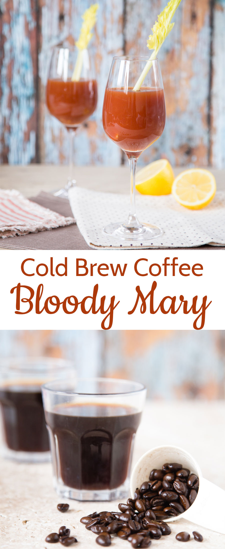 An astonishingly good combination of cold brew coffee and tomato juice - think of it as a grown up energy drink for the sophisticated palate.