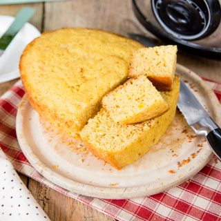 Slow Cooker Cornbread {Egg Free}