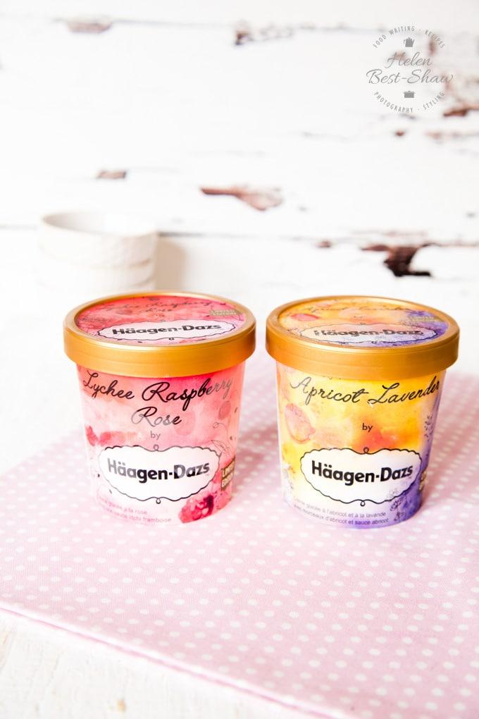 Häagen-Dazs Little Gardens Limited Edition range of ice cream