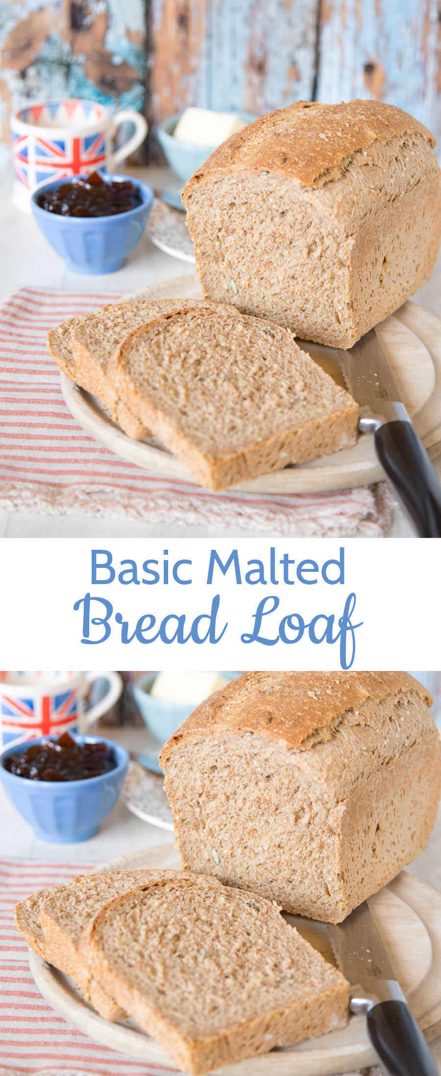 This easy recipe for a basic malted brown loaf will become your to go recipe whenever you make bread.