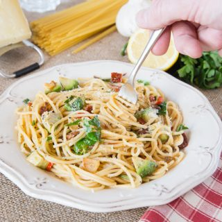 Quick & Easy Chilli Anchovy Pasta